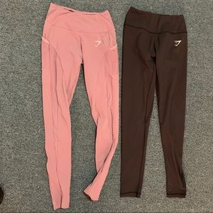 Gymshark aspire with pockets leggings and dreamy